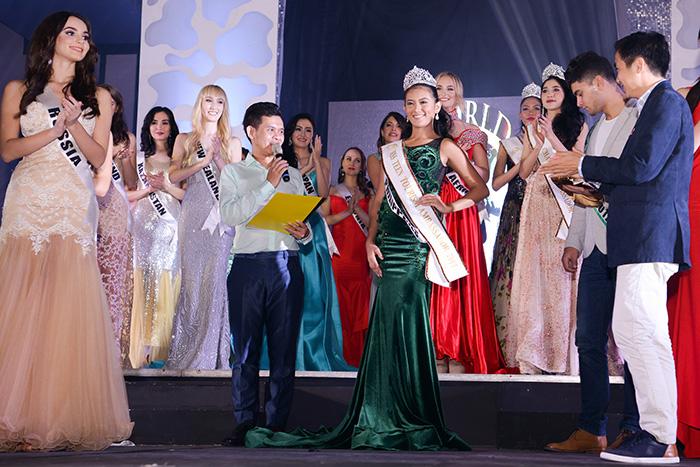 Hoa hậu Quốc tế đã diễn ra đêm bán kết rực rỡ sắc màu