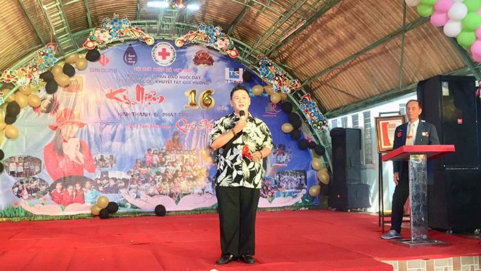 Minh Béo tích cực tham gia biểu diễn từ thiện