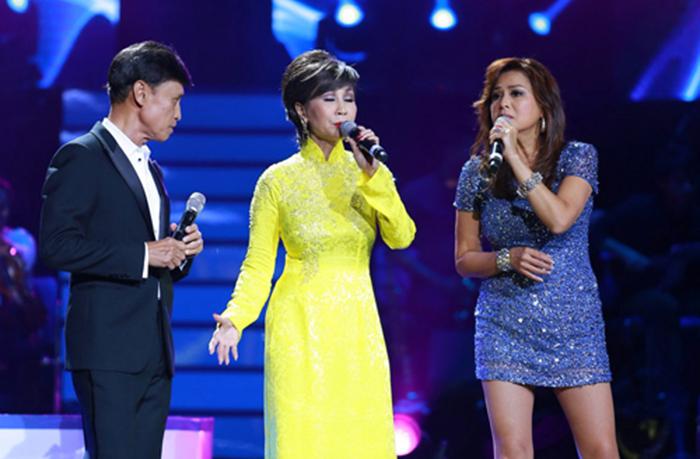 Thanh Hà lần đầu đứng chung sân khấu với Tuấn Ngọc, Lưu Bích