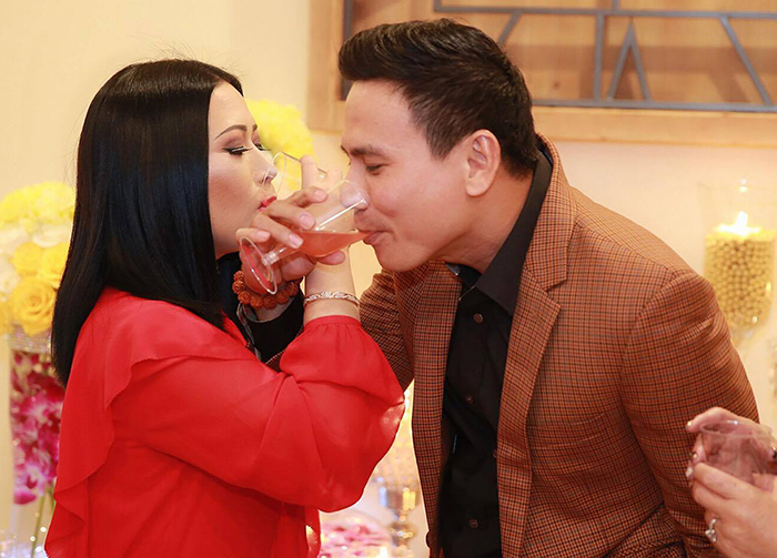 Đáng ganh tỵ tình cảm CEO Kristine Thảo Lâm dành cho Trí Quang trong tiệc sinh nhật