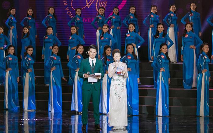 Vũ Mạnh Cường tiếp tục vinh danh người đẹp Hoa khôi Sinh viên Việt Nam 2017