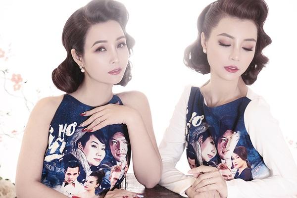 Mai Thu Trang và Mai Thu Huyền – cặp đôi Thúy Vân, Thúy Kiều của làng showbiz Việt