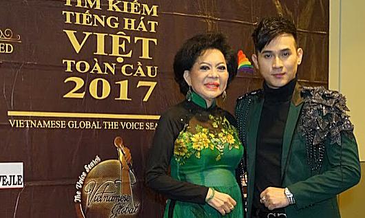 Ca sĩ Nguyên Vũ cùng danh ca Giao Linh sang châu Âu làm giám khảo cuộc thi Tiếng Hát Việt Toàn Cầu