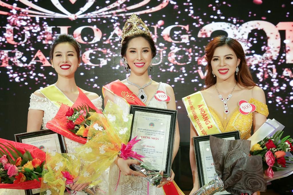 Nữ Hoàng Trang Sức Việt Nam 2017 kêu tên người đẹp Mỹ Duyên