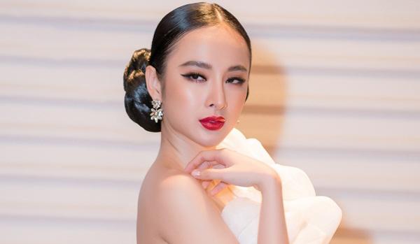 """Phản ứng của Angela Phương Trinh khi """"chạm mặt"""" tình cũ Chiêm Quốc Thái tại sự kiện"""