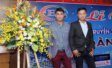 Tưng bừng buổi lễ ra mắt Công ty TNHH truyền thông giải trí Quốc tế Hoàng Duy