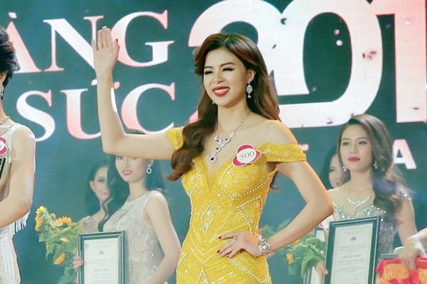 Vũ Thị Tuyết Nhung đoạt ngôi vị Á hoàng 2 Nữ Hoàng Trang Sức 2017