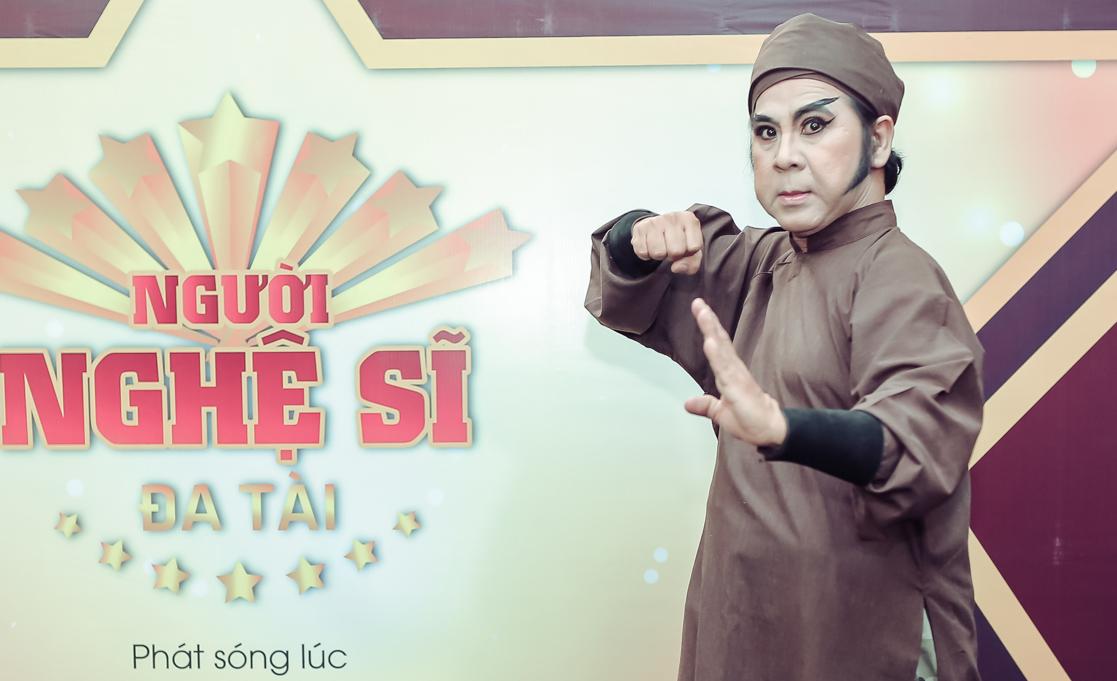Bạch Long rút khỏi Người nghệ sĩ đa tài 2017