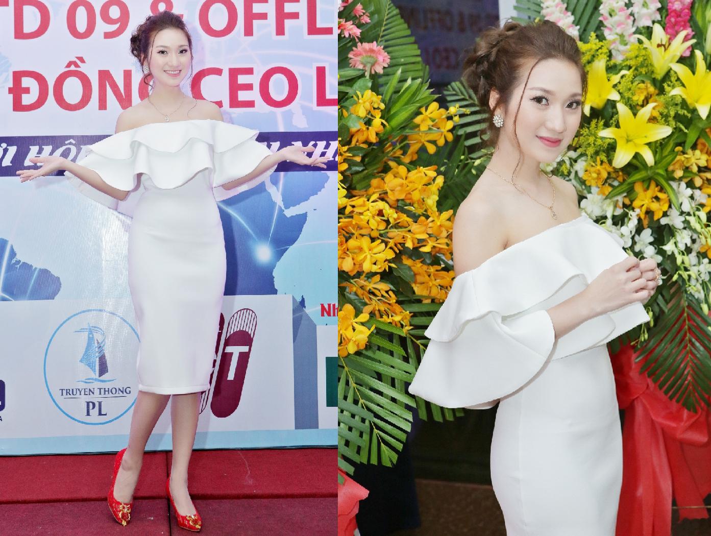 Cao Mỹ Kim tham dự buổi lễ ra mắt lớp học CEO với hình tượng Doanh nhân