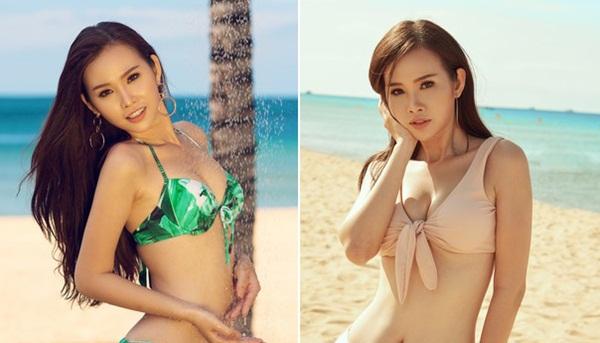 """""""Siêu vòng 3"""" Thanh Trang nóng bỏng với bikini trước thềm chung kết Hoa Hậu các quốc gia 2017"""