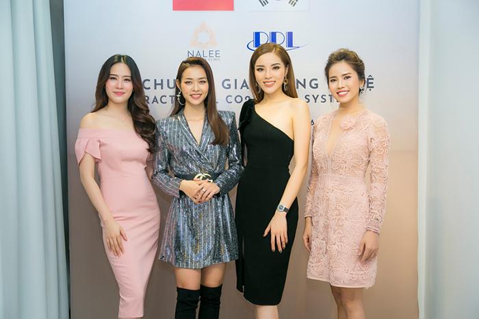 Kỳ Duyên, Nam Em, Bella Mai dự sự kiện Diệp Bảo Ngọc tổ chức