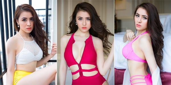 Hoa Hậu Thư Dung diện bikini khoe đường cong nóng bỏng sau đăng quang
