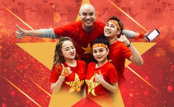 """Dàn sao Việt quay MV """"Triệu trái tim một tình yêu"""" cổ vũ U23 Việt Nam"""