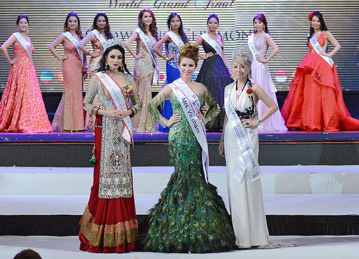 MC - diễn viên Hoàng Ny thắng lớn tại Mrs International Global 2018