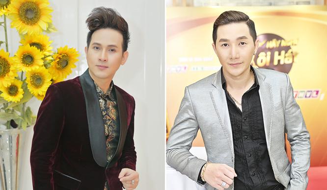 """Nguyên Vũ cùng Siêu mẫu Nam Phong lịch lãm tại buổi họp báo """"Hãy Nghe Tôi Hát"""" mùa 3"""
