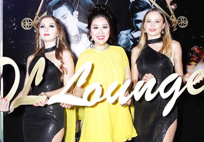 Nữ hoàng Kim Trang tưng bừng khai trương Bar DL LOUNGE