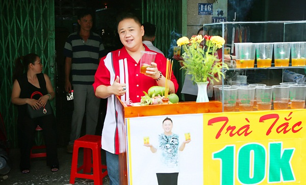 Minh Béo tiếp tục khai trương thêm điểm bán Trà tắc Minh Béo