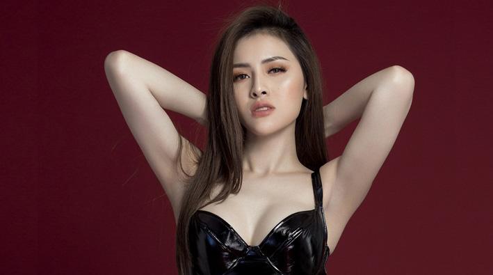 Thư Dung khoe nhan sắc đẹp hút hồn hứa hẹn bùng nổ tại Miss Eco International 2018