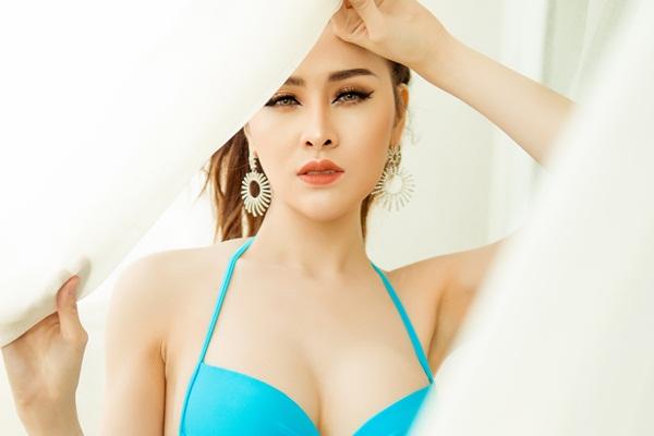 Thư Dung khoe body bốc lửa trước ngày lên đường thi Miss Eco International 2018