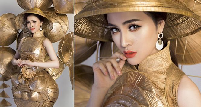 Ngắm trang phục Eco của Thư Dung tại Miss Eco International 2018