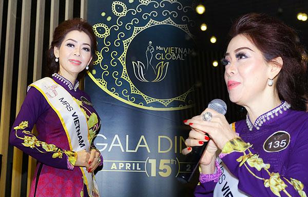 Á hậu Hồng Yến tham dự Mrs Vietnam GLOBAL 2018