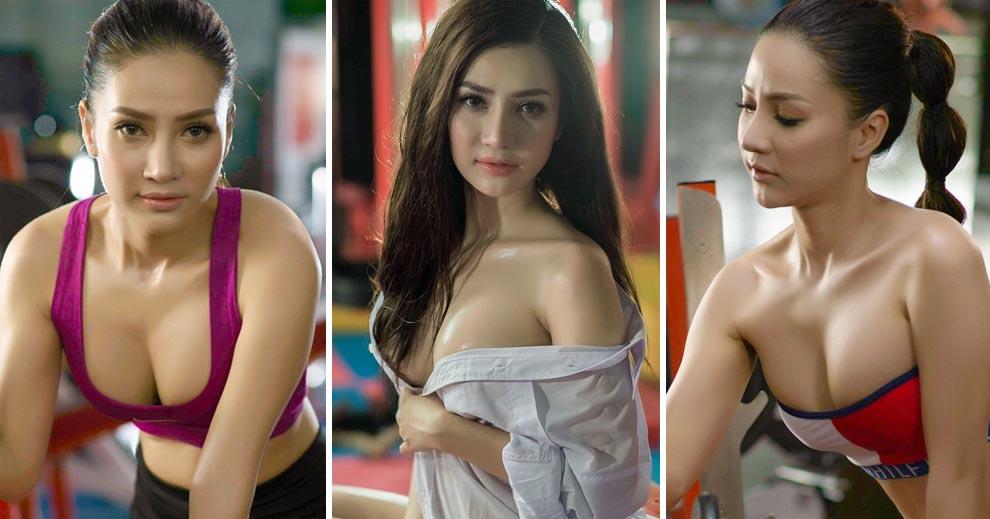 Bỏng mắt với vẻ sexy của bạn gái Hồ Việt Trung