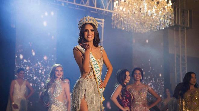 Nhà thiết kế Đức Vincie chọn cô gái ngành Y đăng quang Miss Grand Mexico 2018