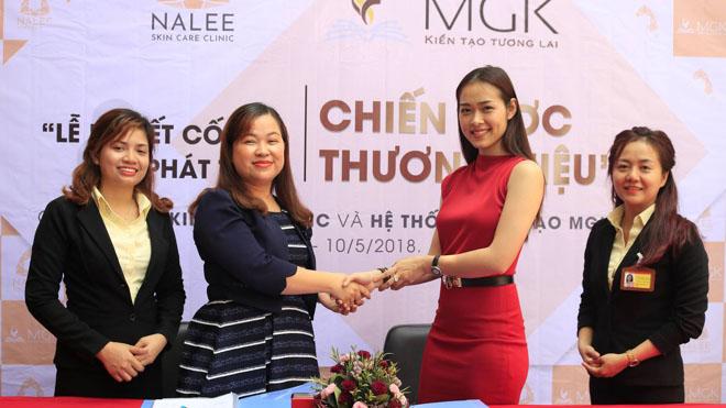 MGK làm cố vấn chiến lược và phát triển thương hiệu cho mỹ viện của diễn viên Diệp Bảo Ngọc