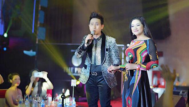 Nguyên Vũ cùng Như Quỳnh, Giao Linh cháy hết mình trong đêm nhạc tại Lạng Sơn