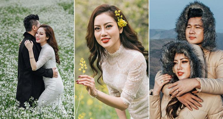 Lâm Vũ tung bộ ảnh cưới siêu ngọt ngào tại Sapa