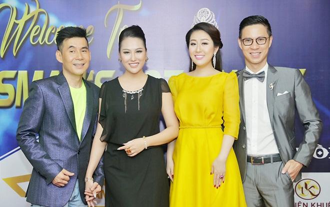 """Đông đảo sao Việt ủng hộ chương trình """"Doanh nhân Tài Năng"""""""