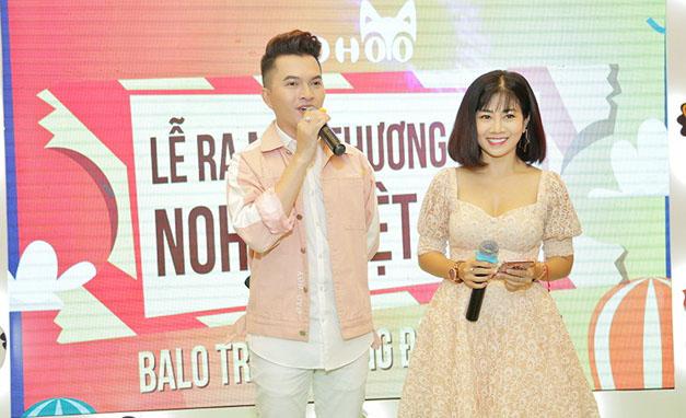 """Nam Cường, Mai Phương """"cầm Trịch"""" ngày ra mắt balo trẻ em Nohoo"""