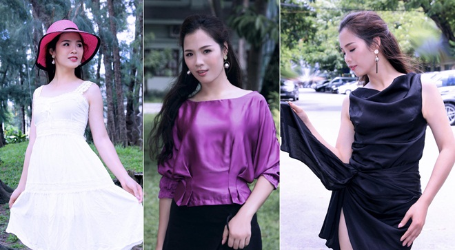 Á hậu Trang Viên gợi cảm với lụa trong bộ ảnh xuất hiện sau đăng quang