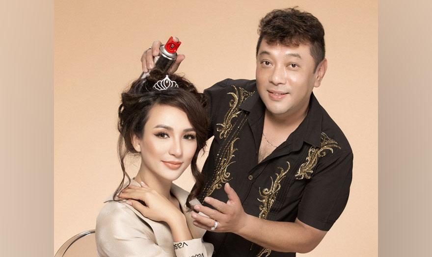 Hoa hậu Ngọc Diễm tiết lộ người làm tóc quen thuộc suốt 10 năm
