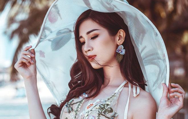 Người đẹp Phương Đài khoe đường cong hút mắt với bikini
