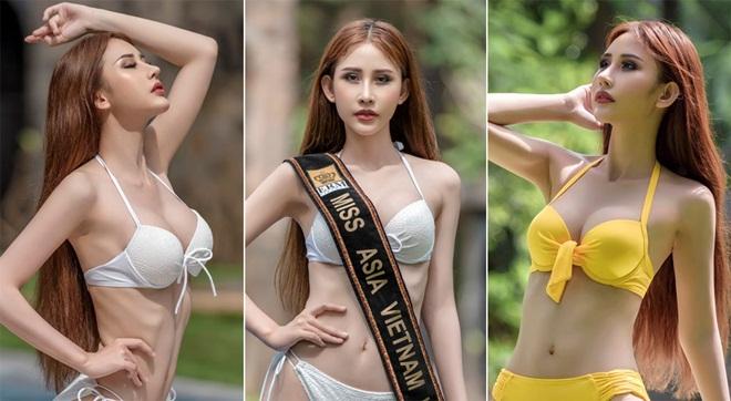 """Chi Nguyễn """"đốt mắt"""" với bộ ảnh bikini nóng bỏng"""