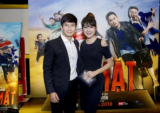 Vợ chồng Lý Hải chúc mừng Minh Luân, Vĩnh Thuyên Kim ra mắt phim mới
