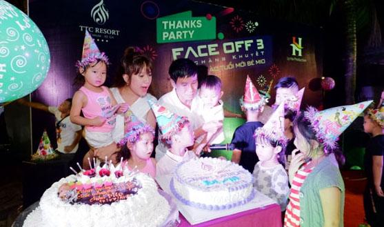 Lý Hải – Minh Hà làm tiệc sinh nhật hoành tráng cho con trai út