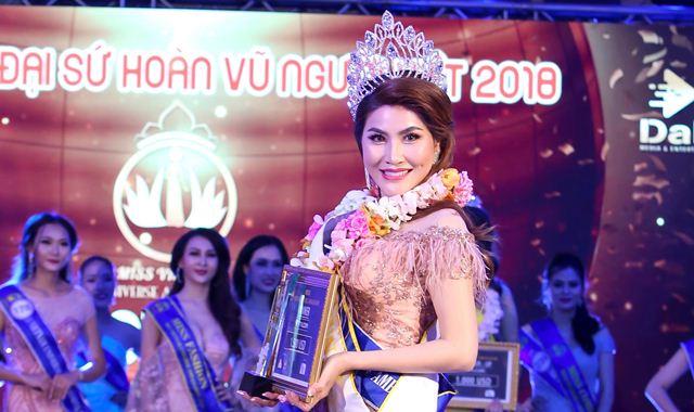 Mai Thị Ngọc Hiệp đăng quang Hoa hậu Đại sứ Hoàn vũ người Việt 2018