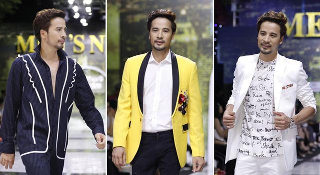 Diễn viên, Siêu mẫu Đoàn Thanh Tài khoe vẻ nam thần trên sàn diễn thời trang Men's Night