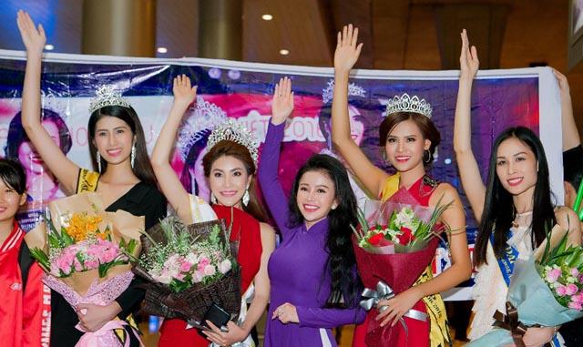 Mai Thị Ngọc Hiệp - Hoa hậu Đại sứ Hoàn vũ người Việt 2018 về nước