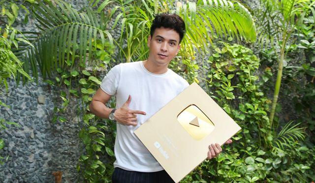 Hồ Quang Hiếu tiếp tục tung dự án vì nút vàng youtube