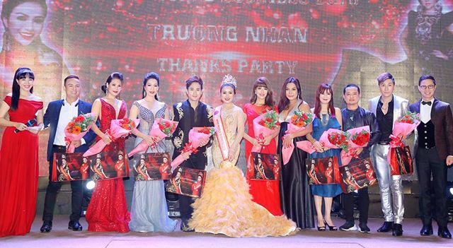 Dàn Sao đình đám đến dự Thank Party Hoa hậu Thế giới Doanh Nhân 2018 Trương Nhân