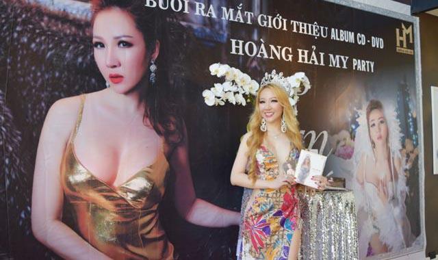 Hoa hậu Hoàng Hải My ra mắt loạt sản phẩm mới tại Mỹ
