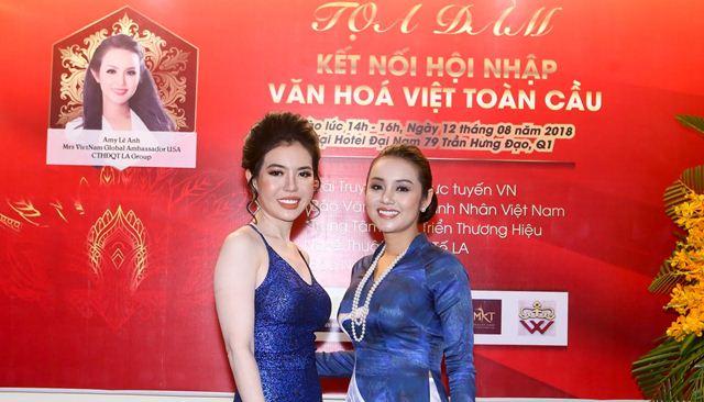 Hoa hậu Amy Lê Anh làm trưởng ban tổ chức cuộc thi Nữ hoàng và Nam vương Doanh nhân quốc tế 2018