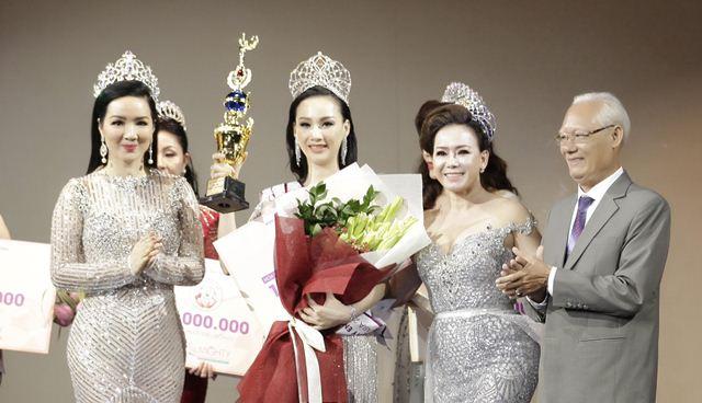 Cựu người mẫu Paris Vũ giành vương miện Hoa hậu Doanh nhân Toàn năng châu Á 2018