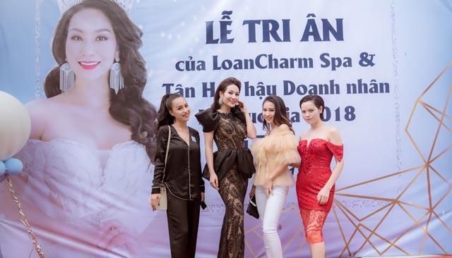 Chủ thương hiệu LoanCharm Spa tổ chức tiệc tri ân khách hàng tròn 1 năm hoạt động