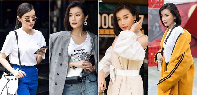 Phá bỏ hình ảnh nữ tính, Cao Thái Hà phối đồ cá tính ra phố