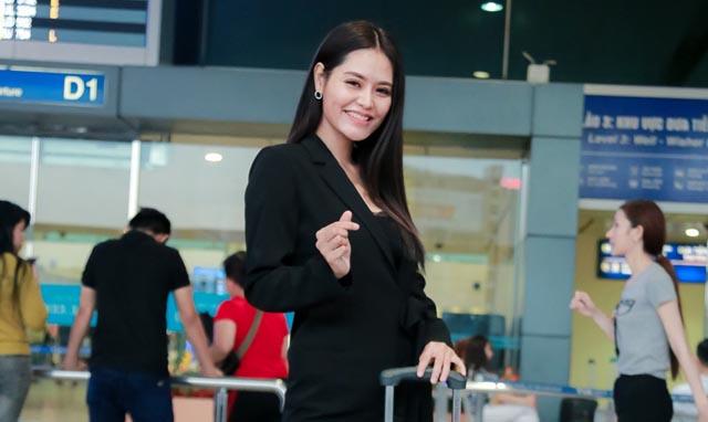 """Hoa khôi Thời trang Dy Khả Hân lên đường """"chinh chiến"""" tại Ms Vietnam New World 2018"""
