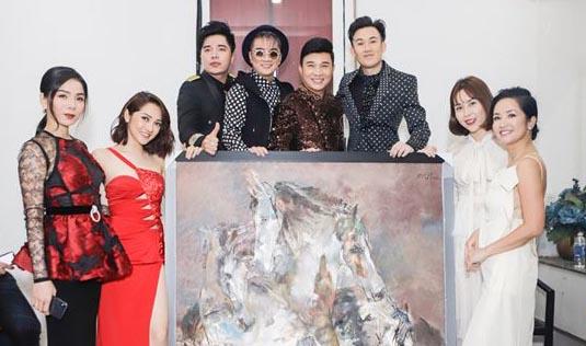 """""""Tình Nghệ Sĩ 15"""" - Công ty Lộc Sơn Hà ủng hộ DV Lê Bình, Mai Phương 200 triệu"""